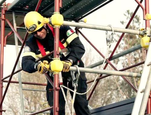 Rischio di caduta dall'alto e misure di primo soccorso